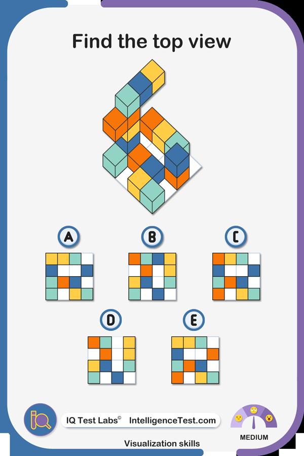 Visualization abilities - mirror image.