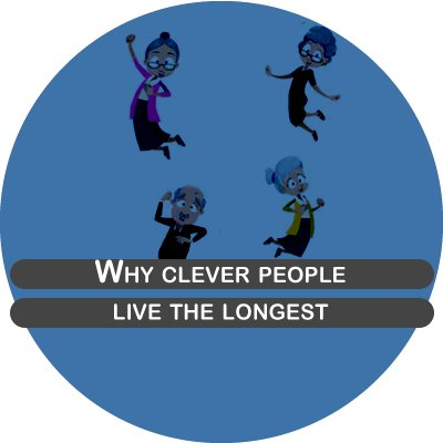 Why clever people live the longest