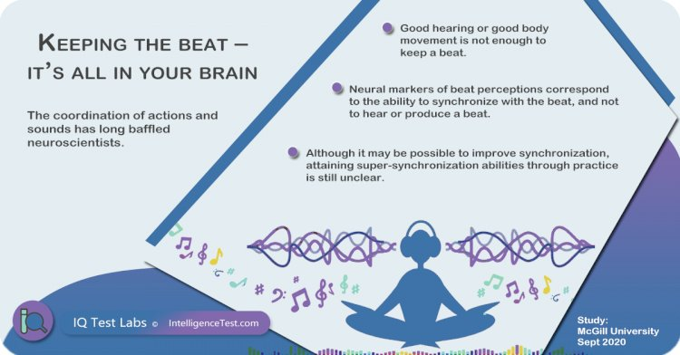 Keeping the beat – it's all in your brain