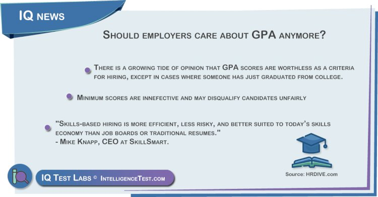 Should employers care about GPA anymore?